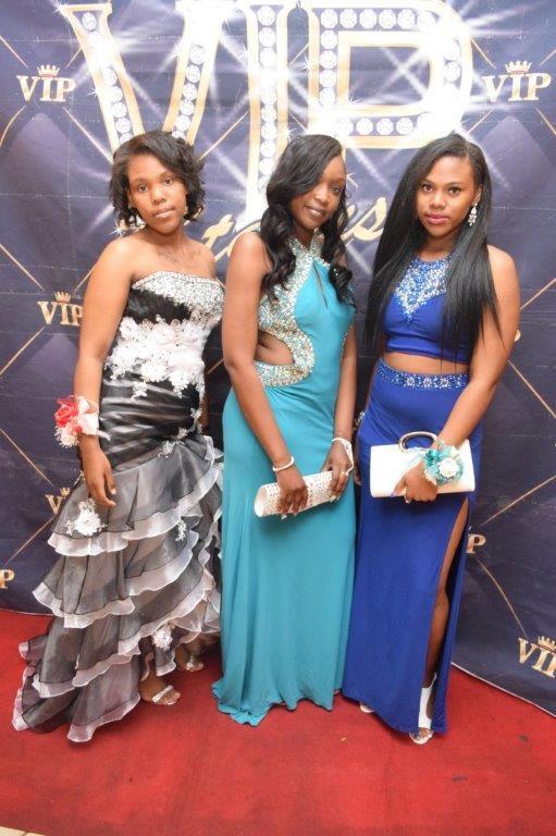 3 Invictus High School students