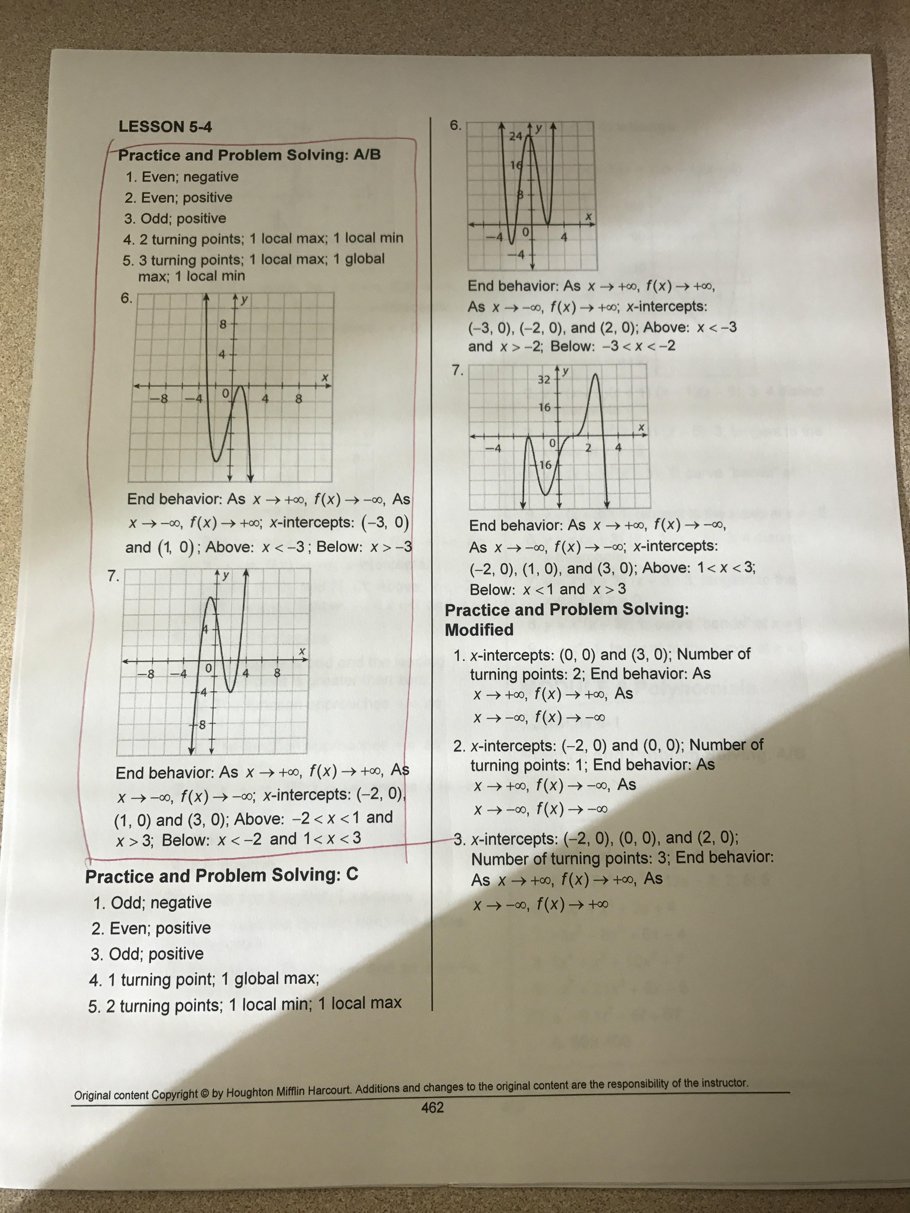 Attractive Harcourt Math Worksheets Crest - Math Worksheets ...