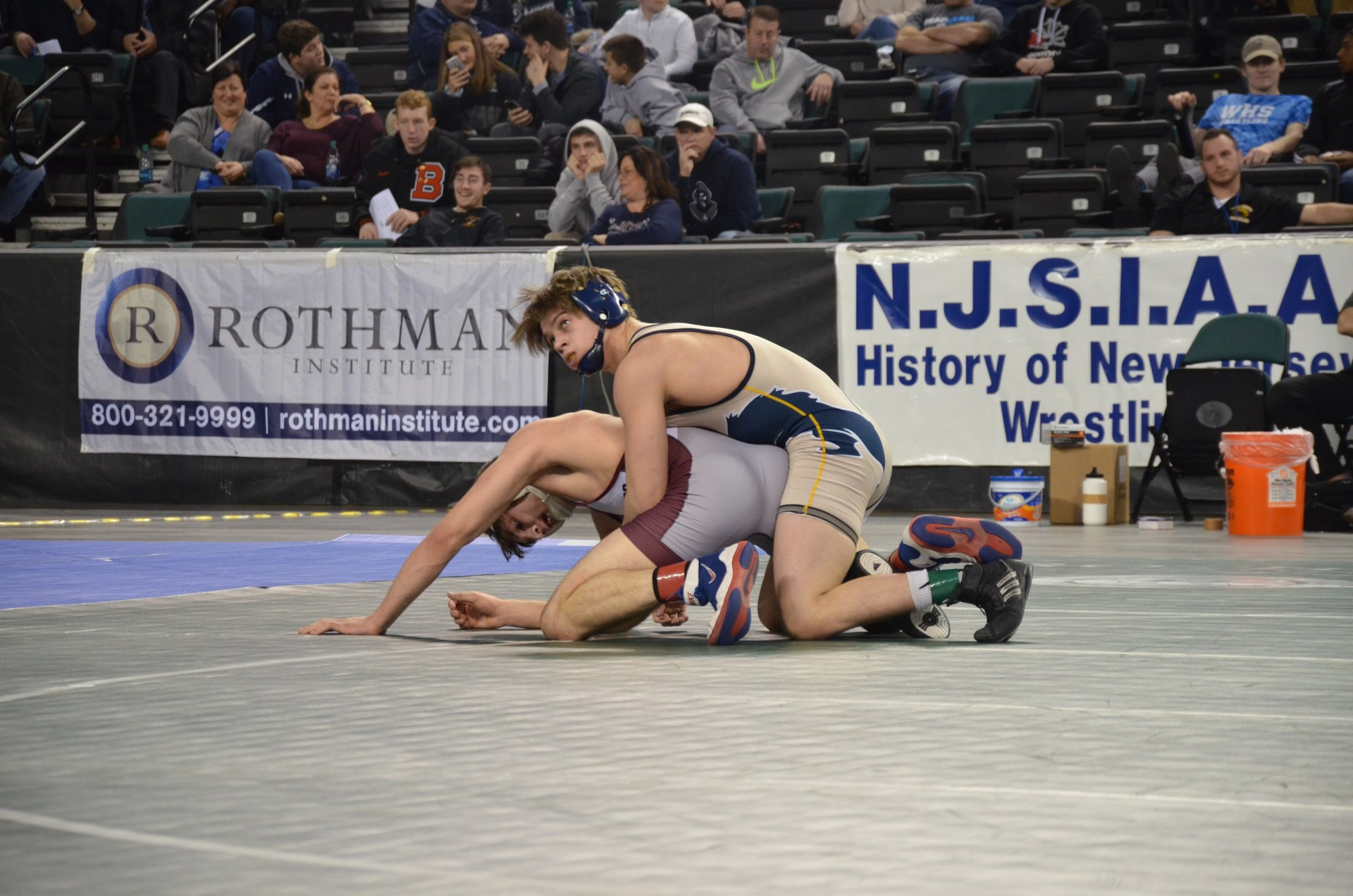 PJ wrestling Aragona