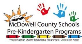 McDowell County Schools Pre-KIndergarten Program Logo