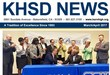 Front page of the KHSD newsletter