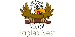 Eagle and a nest