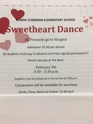 Sweetheart Dance Poster
