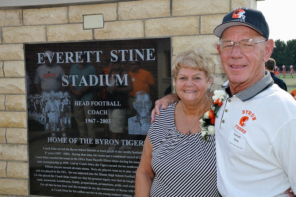 Mr. and Mrs. Stine