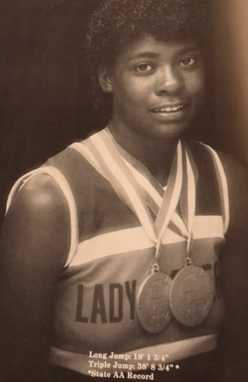 Sandra Mondy. 1985 State Track Champion