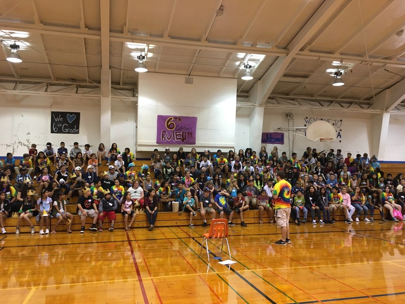 Pomolita Middle School Raises $2,000 for Hurricane Victims - Fundraiser is one of many culture-building activities on campus. Thumbnail Image