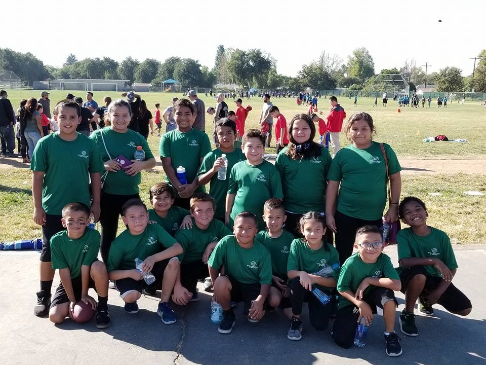 West Whittier Flag Football Team