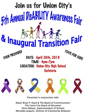 5th Annual Disability Awareness fair flyer