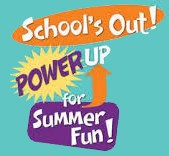 Graphic: School's out! Power up for summer fun!