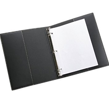 Binder with loose-leaf paper