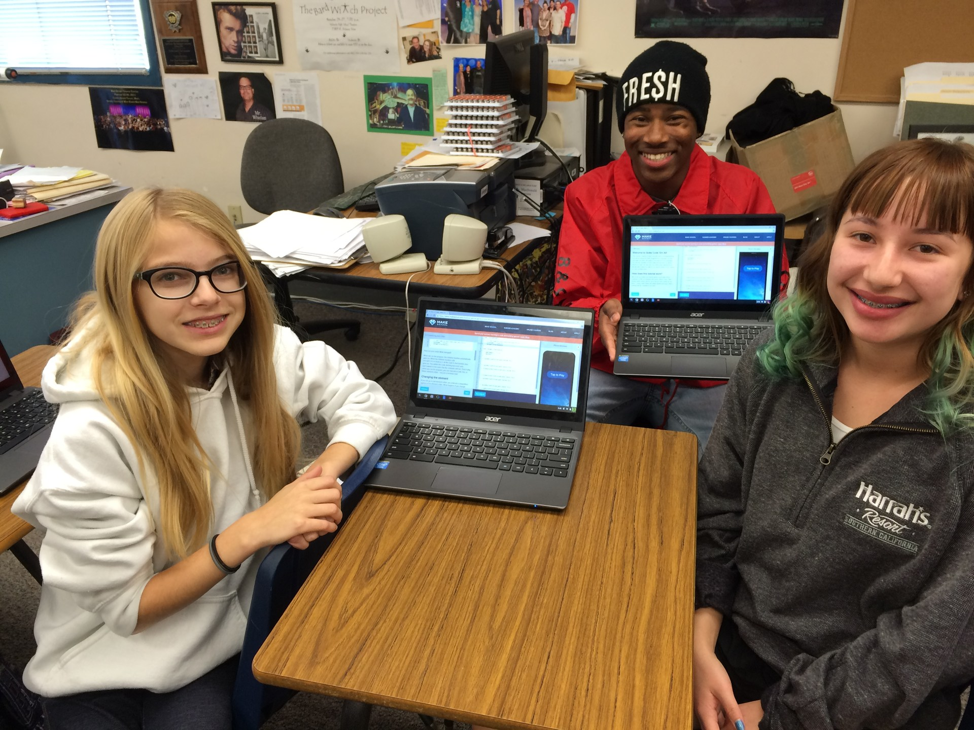 Hour of Code William S. Hart District