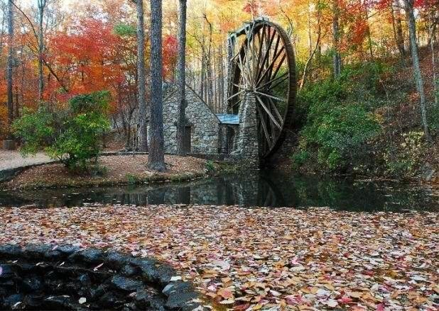 Berry College Old Mill Wheel
