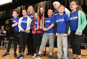 Springdale Elementary's winning team