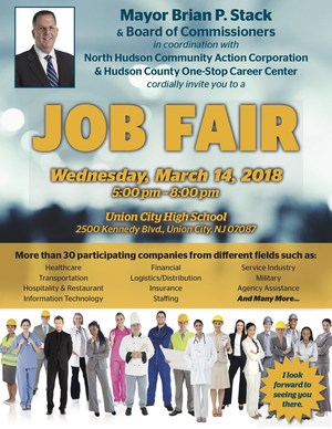 Job Fair Flyer English