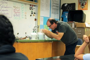 Adam Lane Pomolita Science Teacher Honored