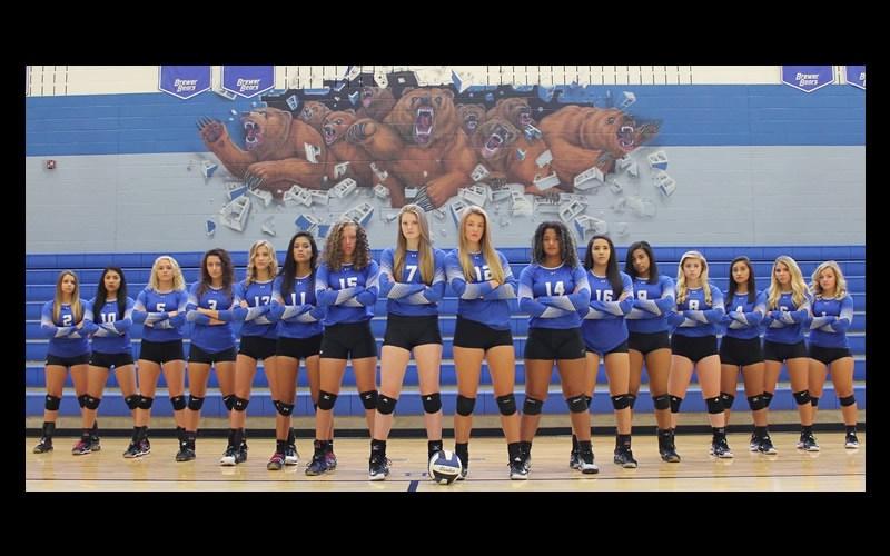 2017 Lady Bear Varsity Team