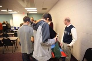 OCS students at Career day