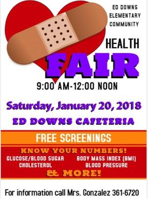 Ed Downs Health Fair