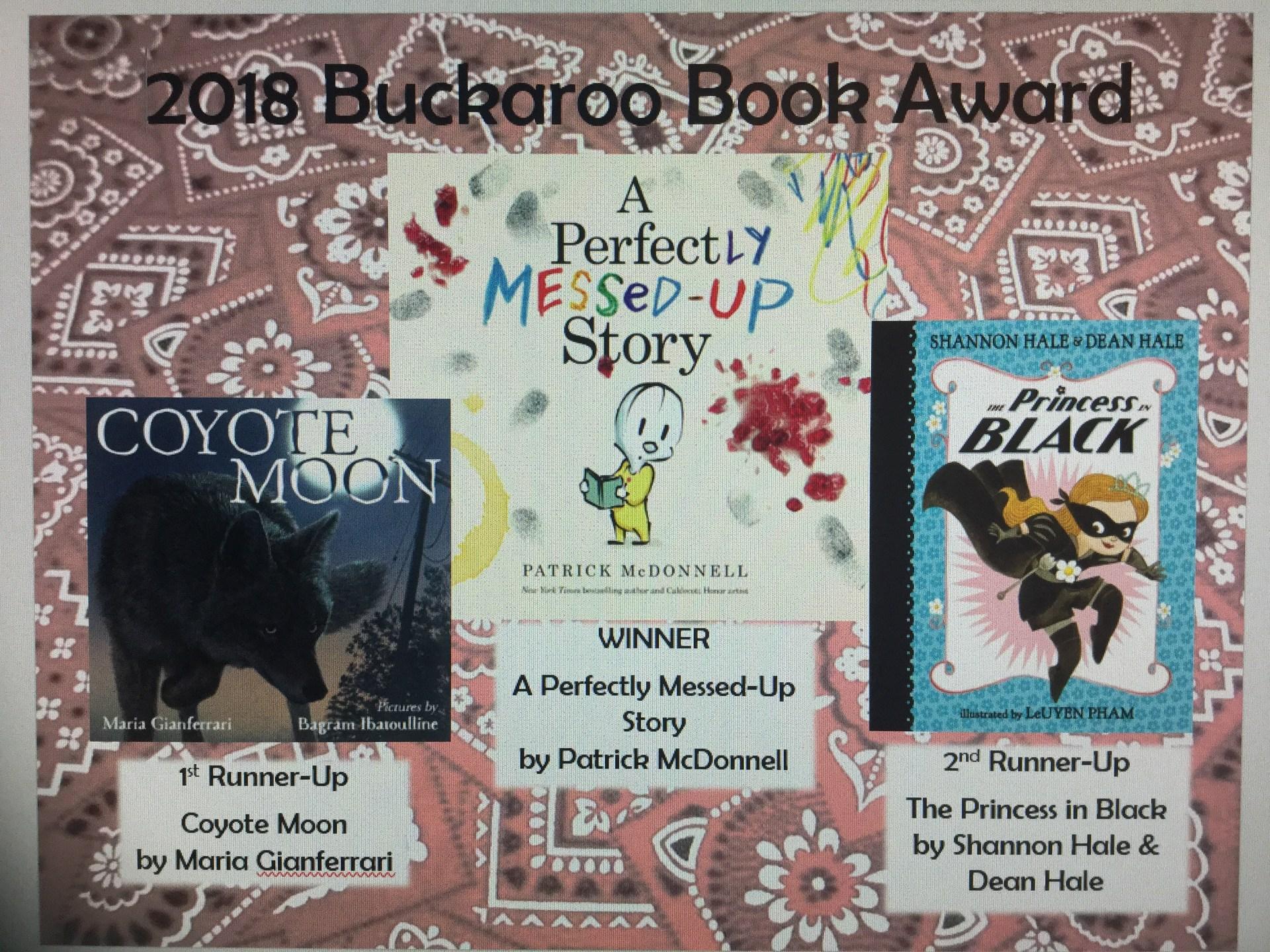 Top 3 Buckaroo book winners