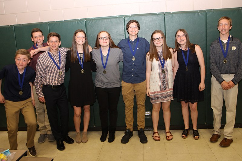 Central students inducted into NJHS Thumbnail Image