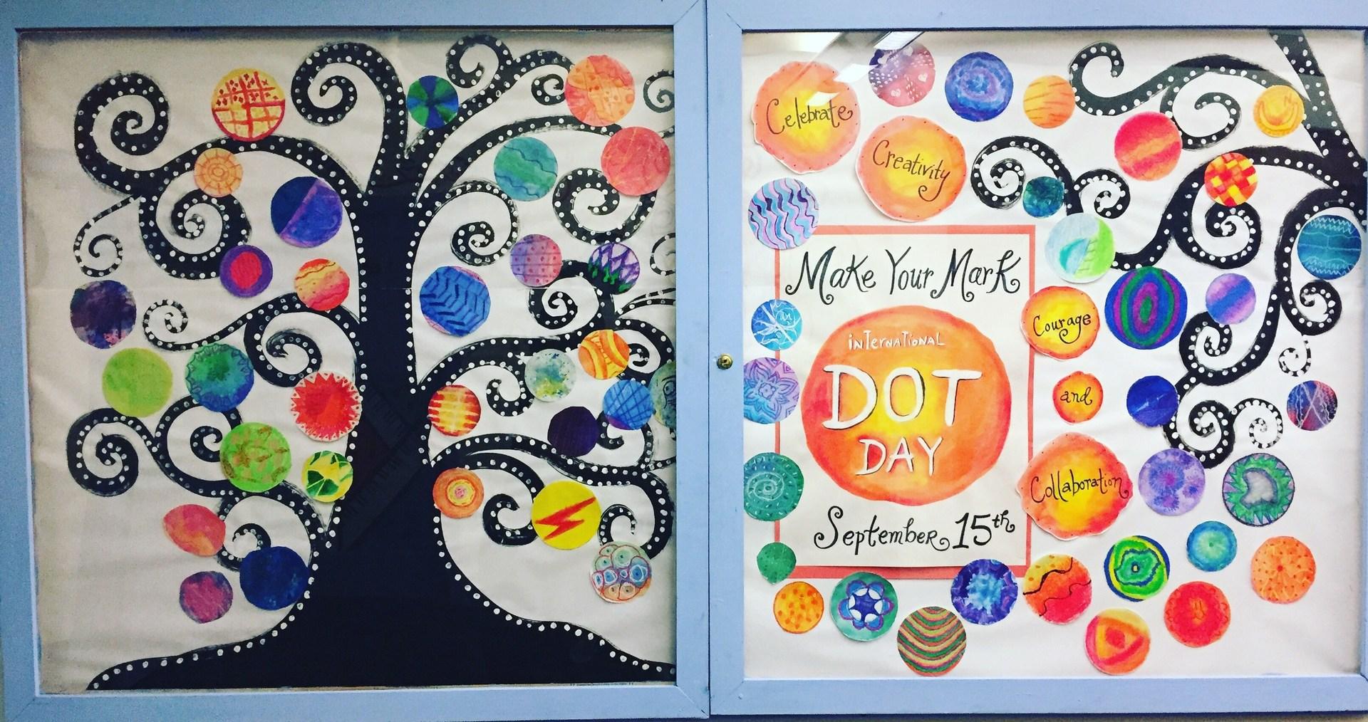 Celebrating International Dot Day