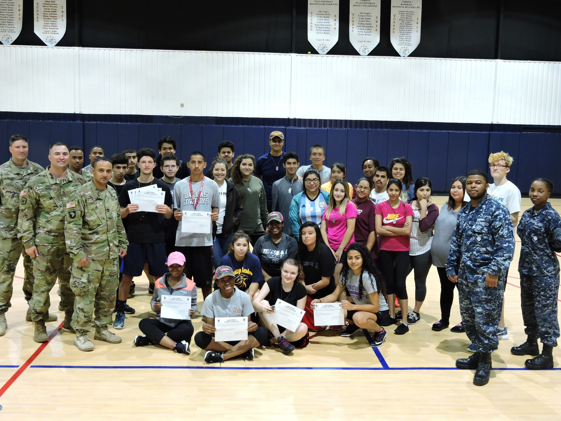 Students with Military members