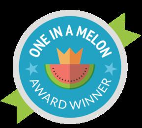 One In A Melon Award Winner Badge