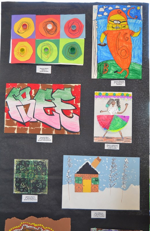 Mt. Healthy North Elementary School Celebrates Student Art and Academics Featured Photo