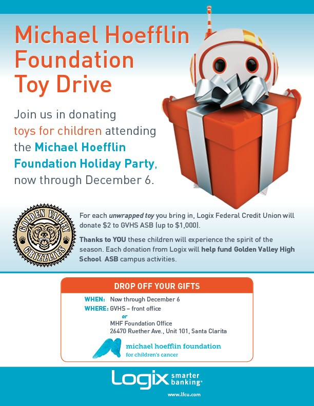 GV ASB and Logix Bank Team for Michael Hoefflin Foundation Toy Drive Featured Photo