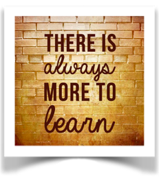 Image 'There is always more to learn'