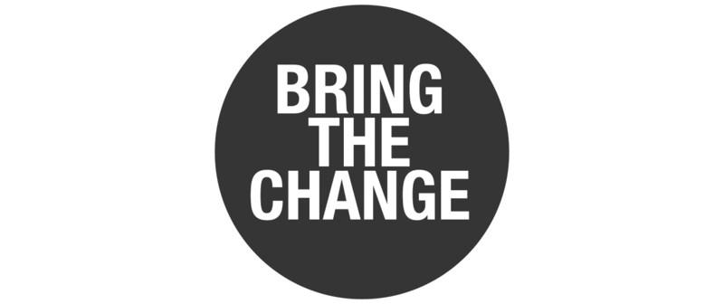 bring the change logo