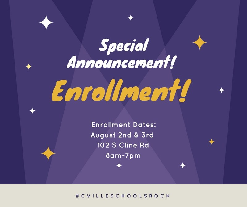 Enrollment  packets will not be mailed out this year! Thumbnail Image