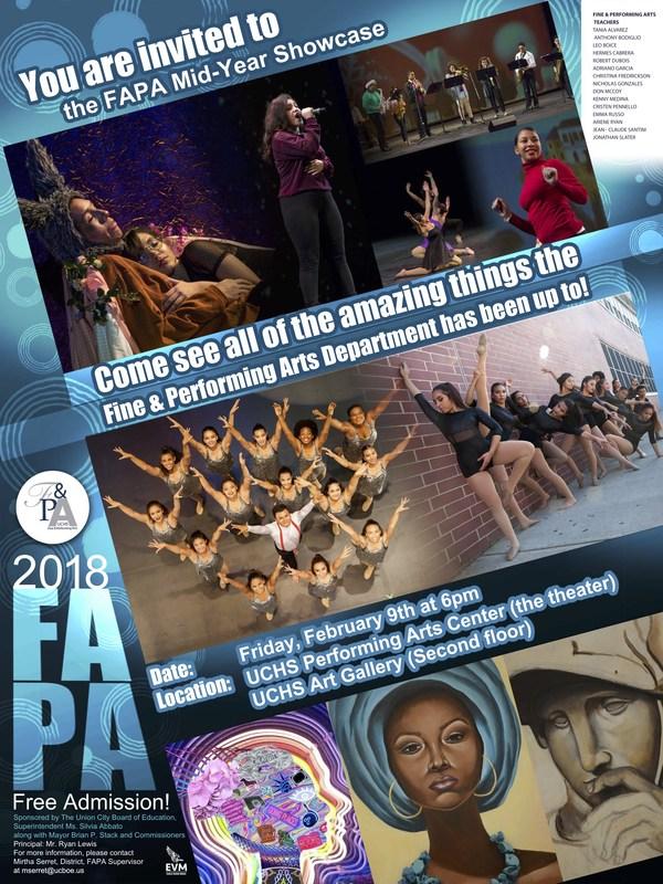 FAPA MidYear Showcase Flyer