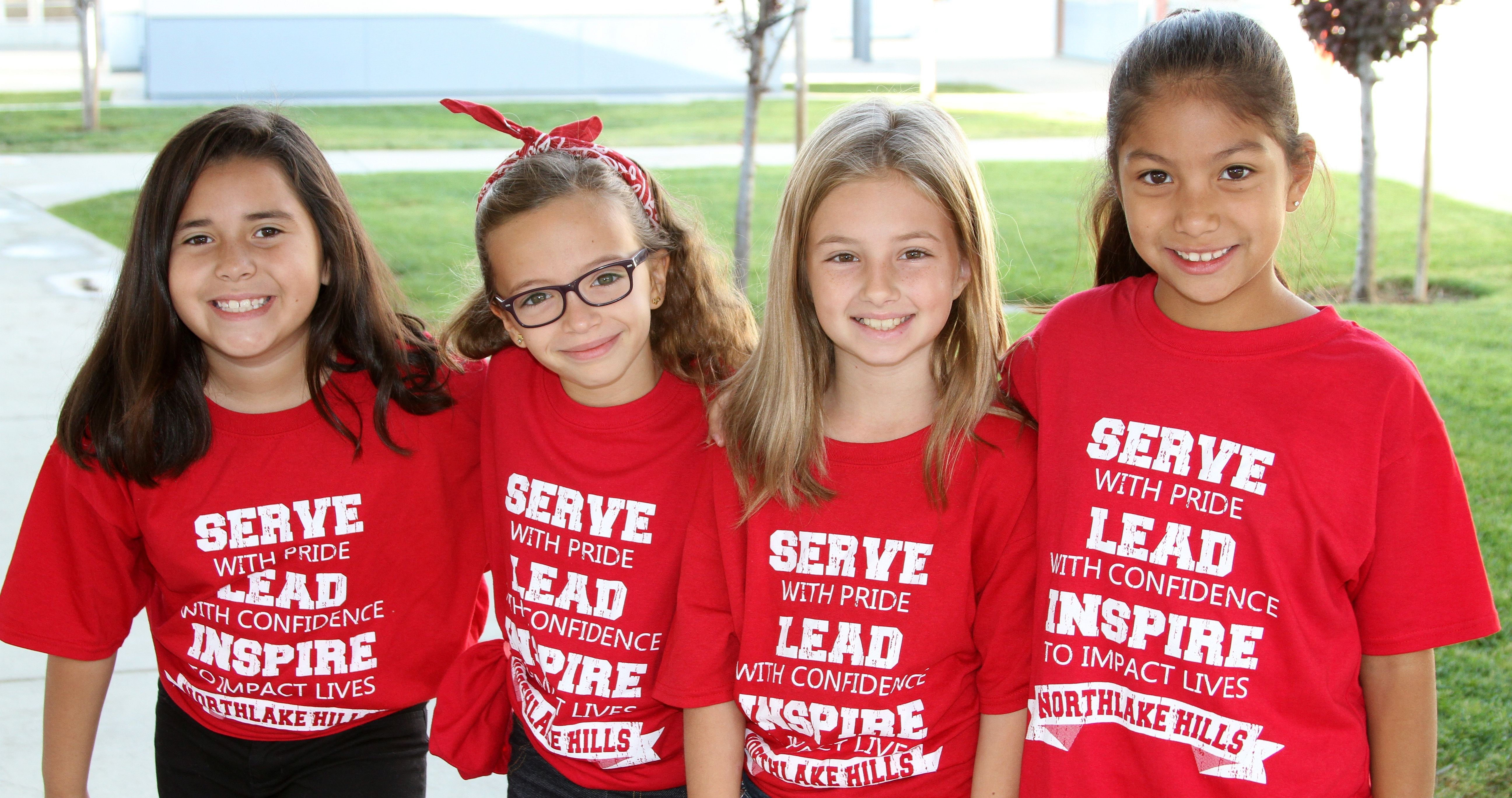 Image of students from Northlake Hills Elementary.