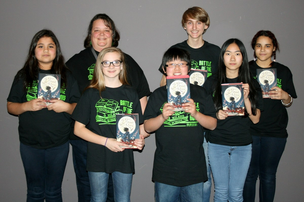 Central Wilkes Middle's Battle of the Books Team