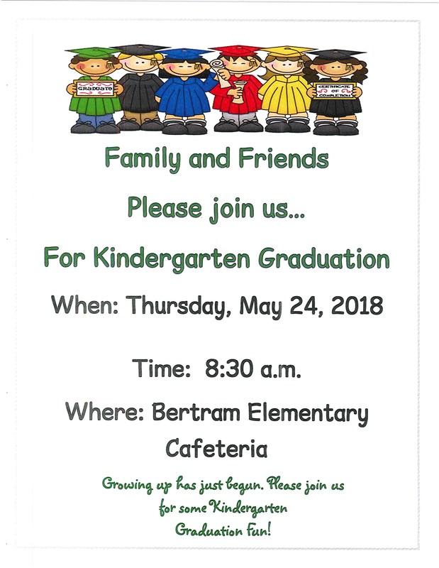 Kindergarten Graduation - Thursday, May 24th Thumbnail Image
