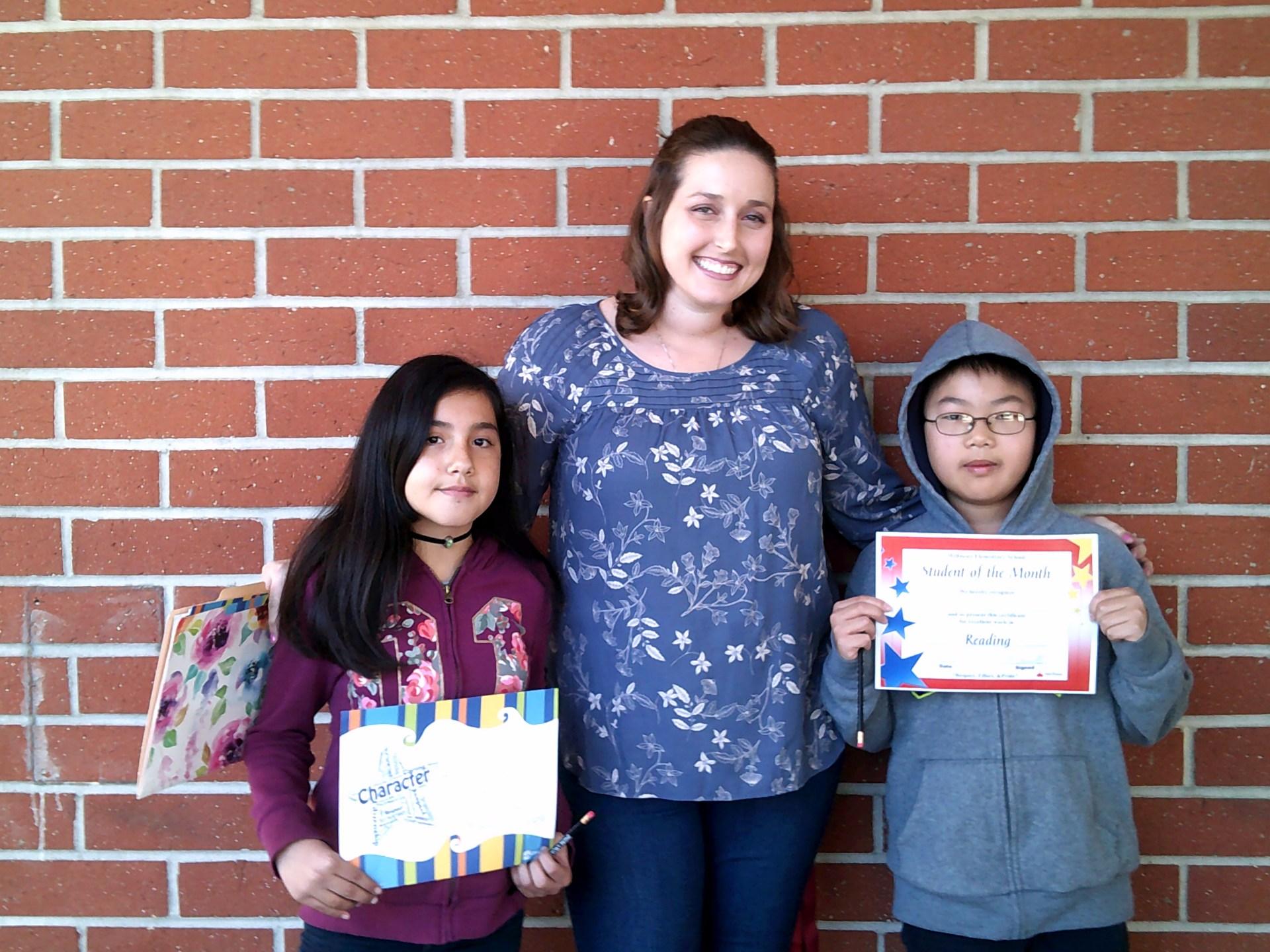 Mrs. Kapustin's Fifth Grade Honorees