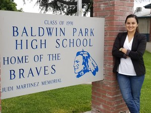 Raquel Viramontes, a nine-year science teacher at Baldwin Park High School, has been named Baldwin Park Unified's 2017 Teacher of the Year for her commitment to students and colleagues.