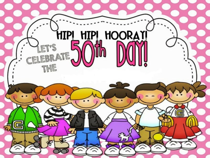 Hip Hip Hooray! Let's Celebrate The 50th Day of School