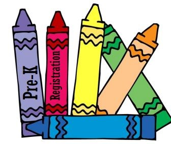 Pre-K Registration Crayon Icon