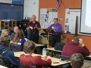 Middleville Village officials give TKHS students a lesson in local government.
