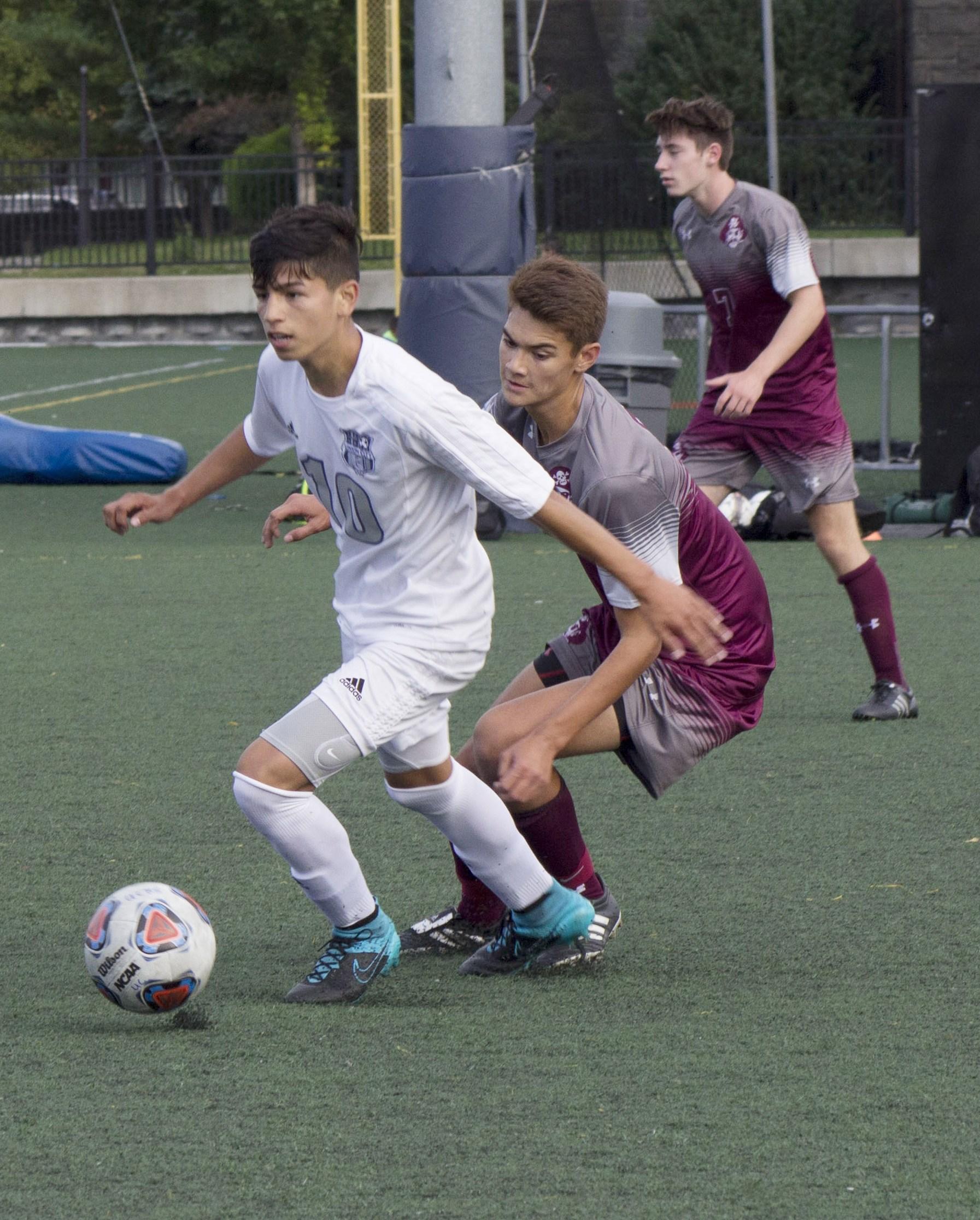 boys soccer block