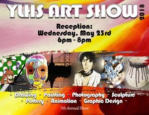 YLHS Art Show Poster