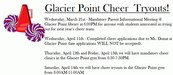Cheer Tryout Flyer