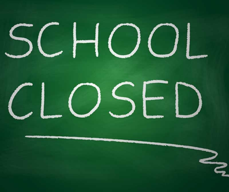 Schools closed on Friday, April 28th Thumbnail Image