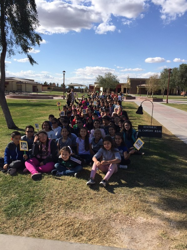 4th grade walked the historic El Camino Real and stopped at missions along the way! Thumbnail Image
