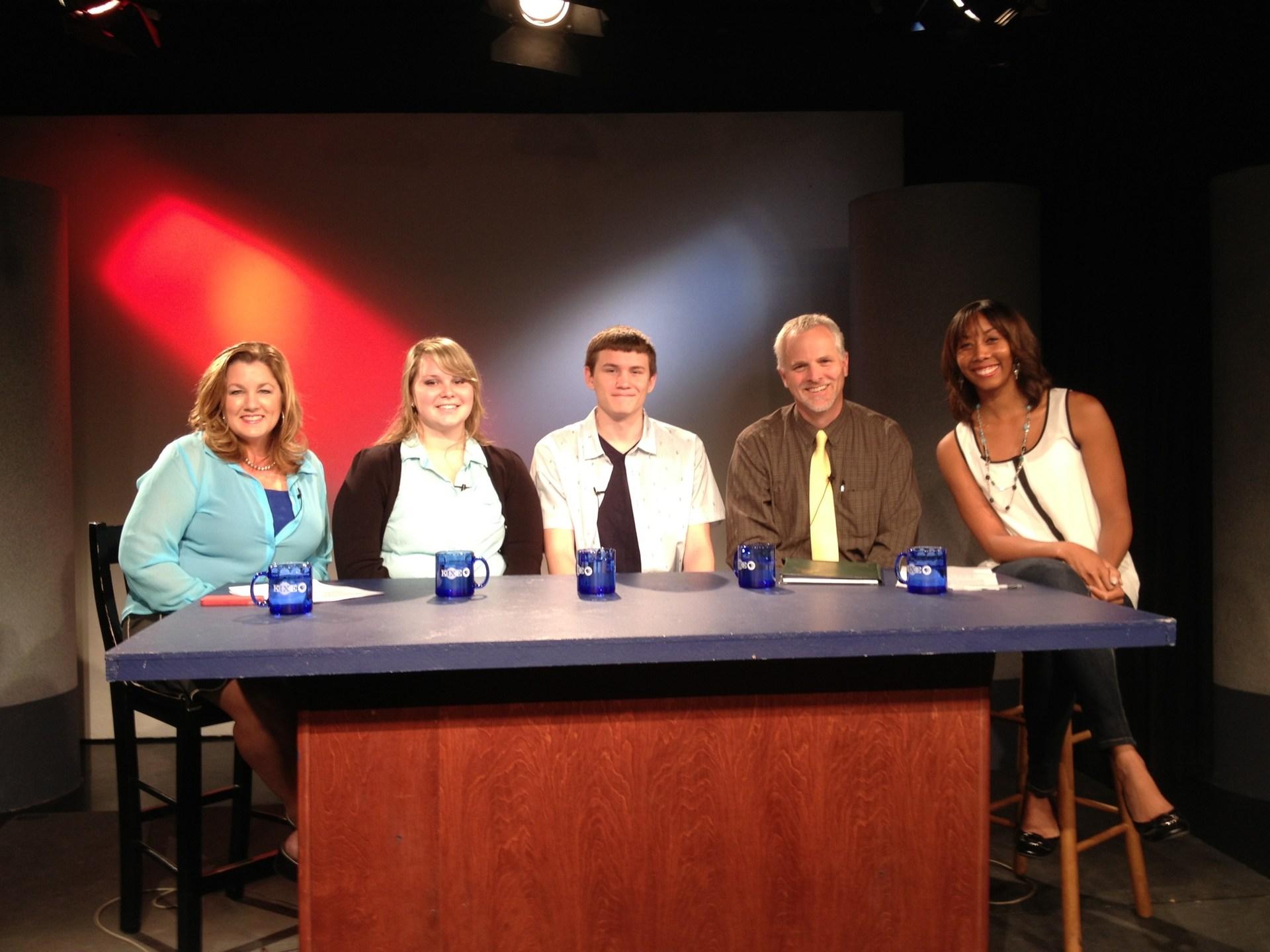 Interviewed on KIXE TV, Channnel 9