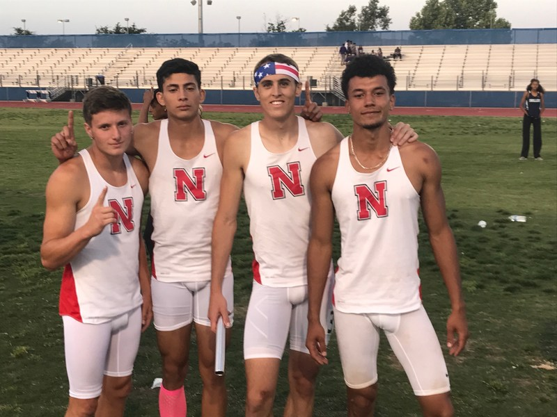 Congratulations to Isaiah Lyttaker, Jozef Davidson, Adrian Lopez, and Caleb Melson on Qualifying for the State 4x400!!! Thumbnail Image