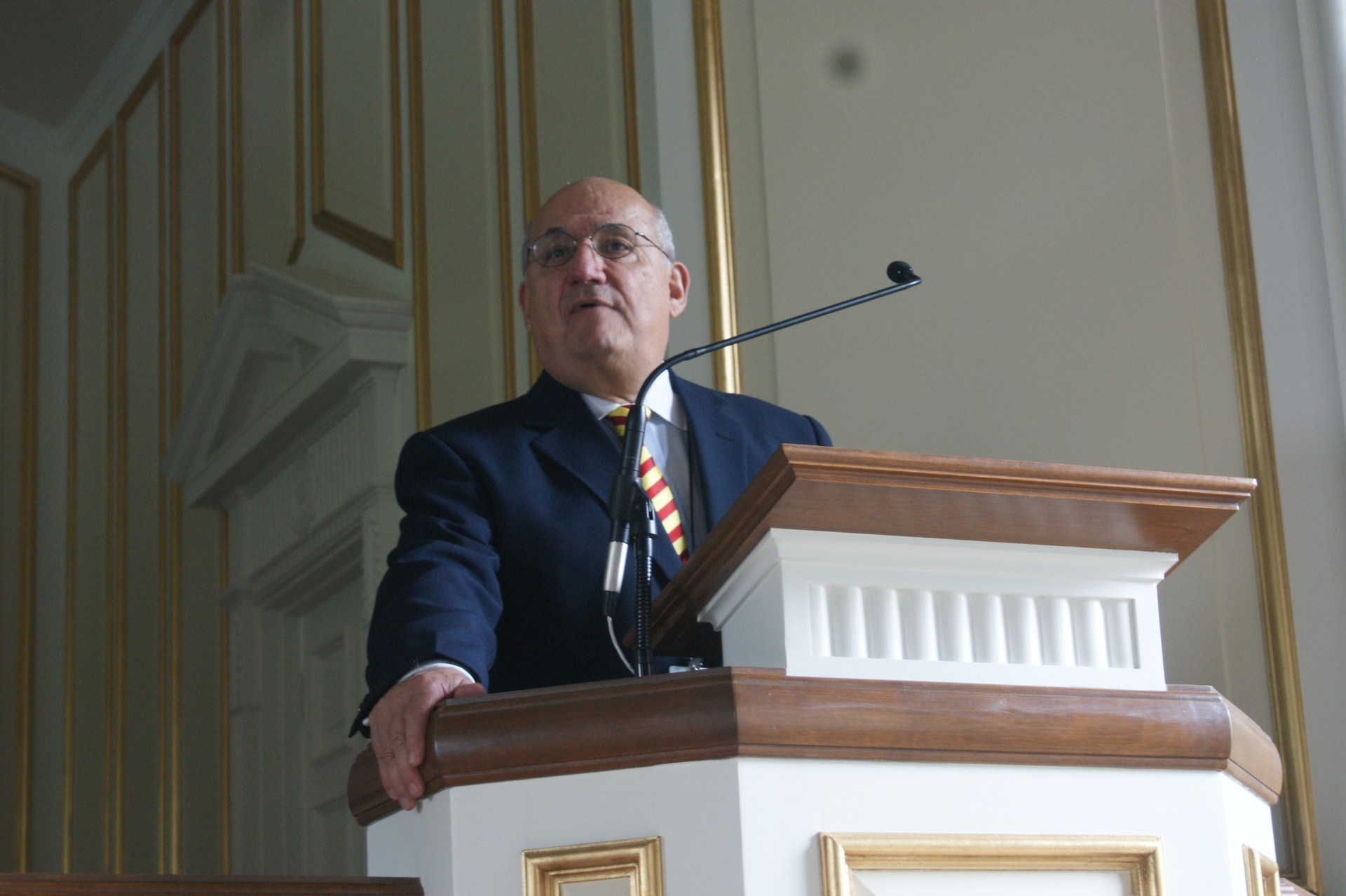 mcgeorge in chapel