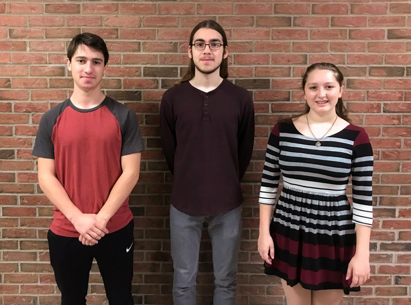 Three Students Inducted into 700 Club Thumbnail Image